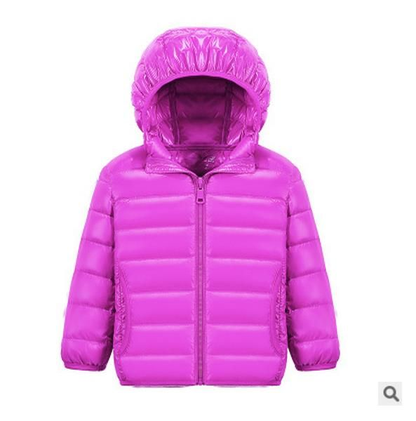 fe1e36620 Hh Children Jacket Outerwear Boy And Girl Autumn Warm Down Hooded ...