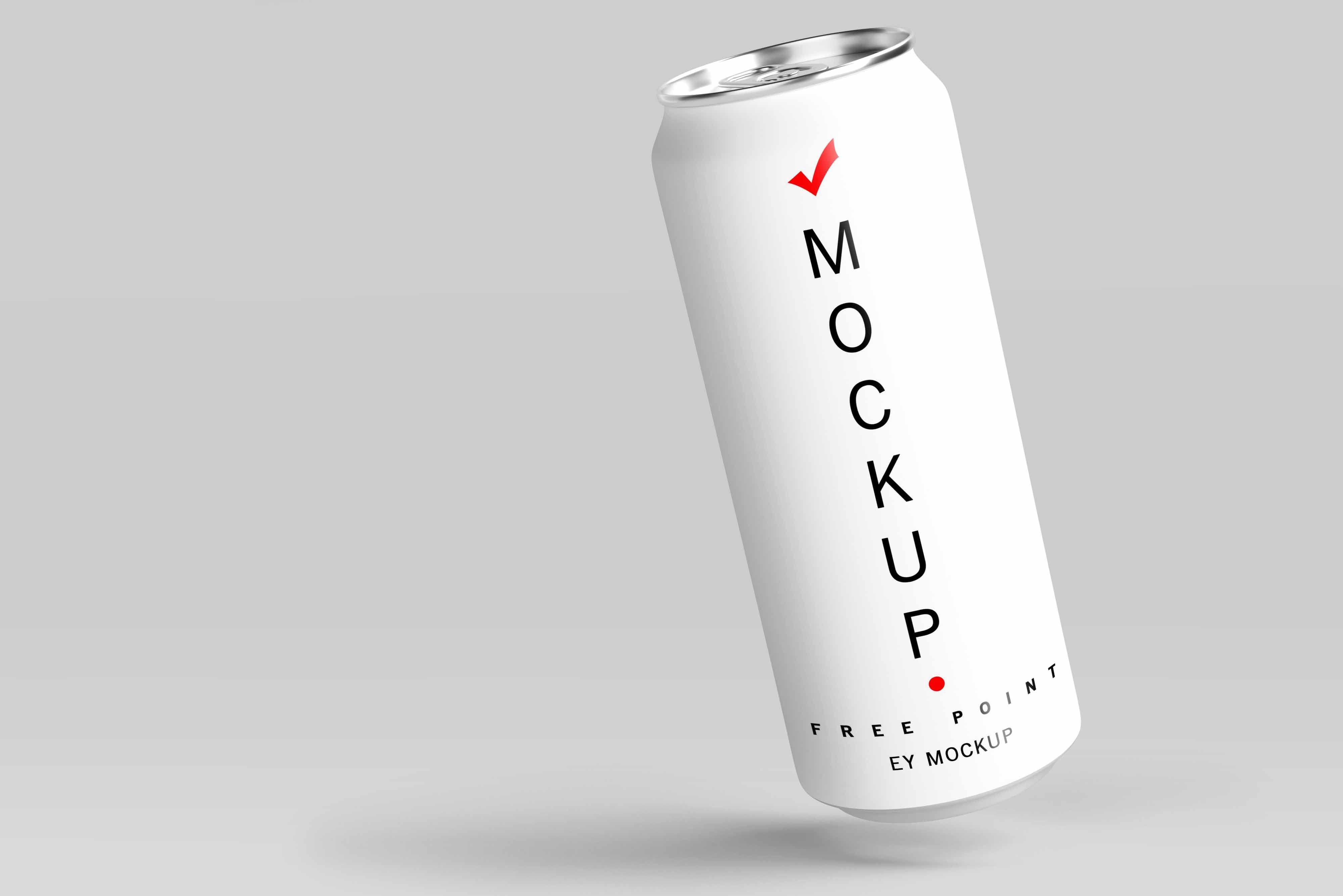 Free Energy Drink Can Label Design Mockup Design Mockup Free
