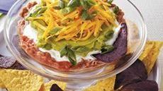 Five-Layer Mexican Dip  mmmmm