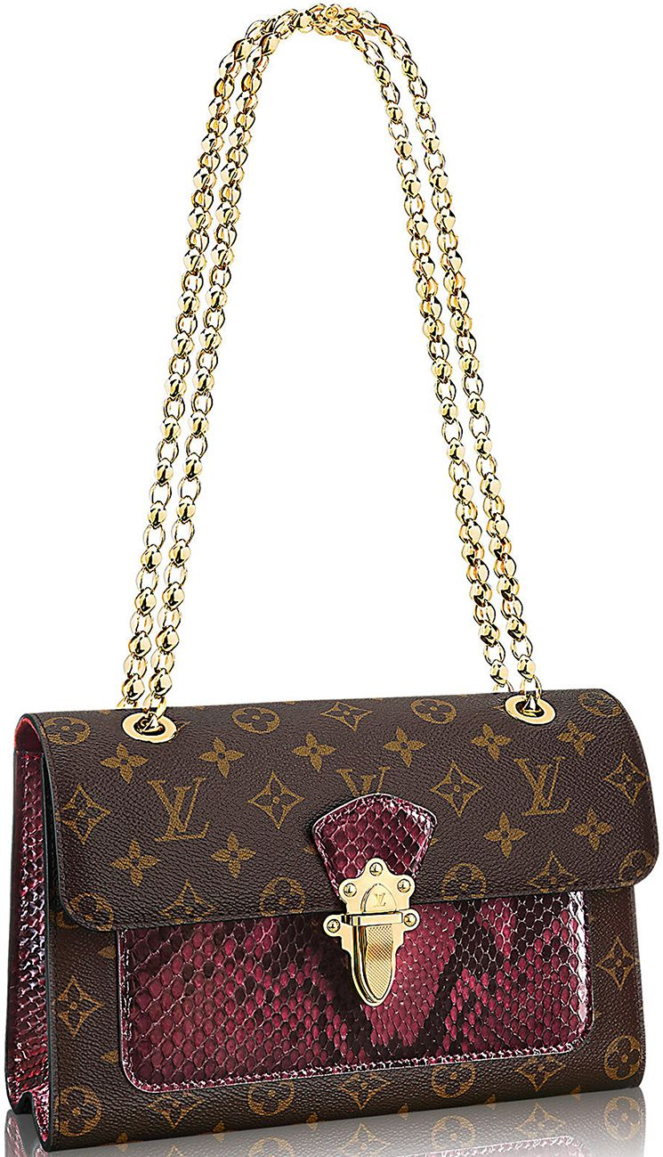 c0b0bd63a16b Louis Vuitton Python Victoire Bag   Bragmybag   Louis Vuitton ...