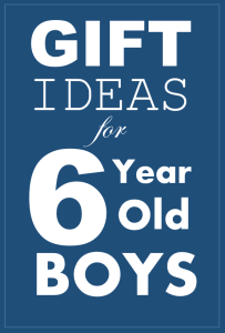 Christmas Gift Ideas For 6 Year Old Boys