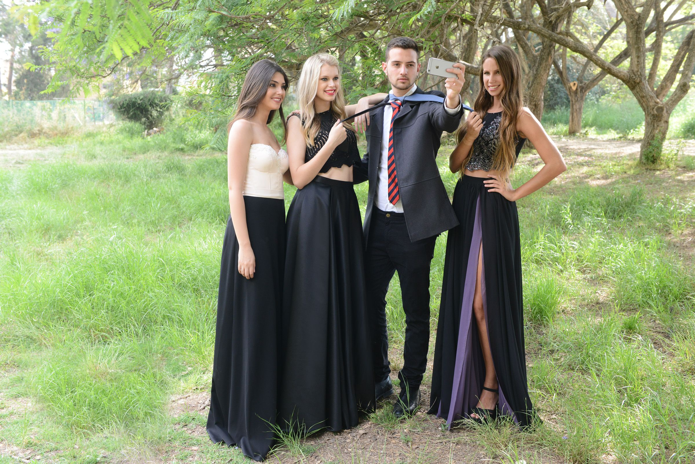 prom and evening collection by solo merav piece evening dress