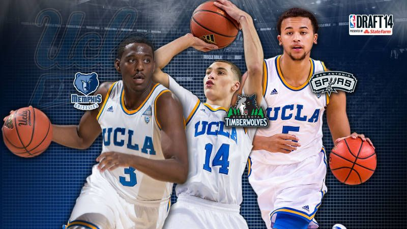 Basketball Produces Three First Round Nba Draft Picks Ucla Basketball Nba Draft Nba Draft Picks