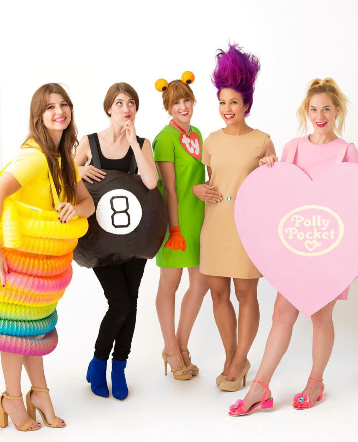 love the ty beanie baby troll and most of all the polly pocket cute halloween costumes80s