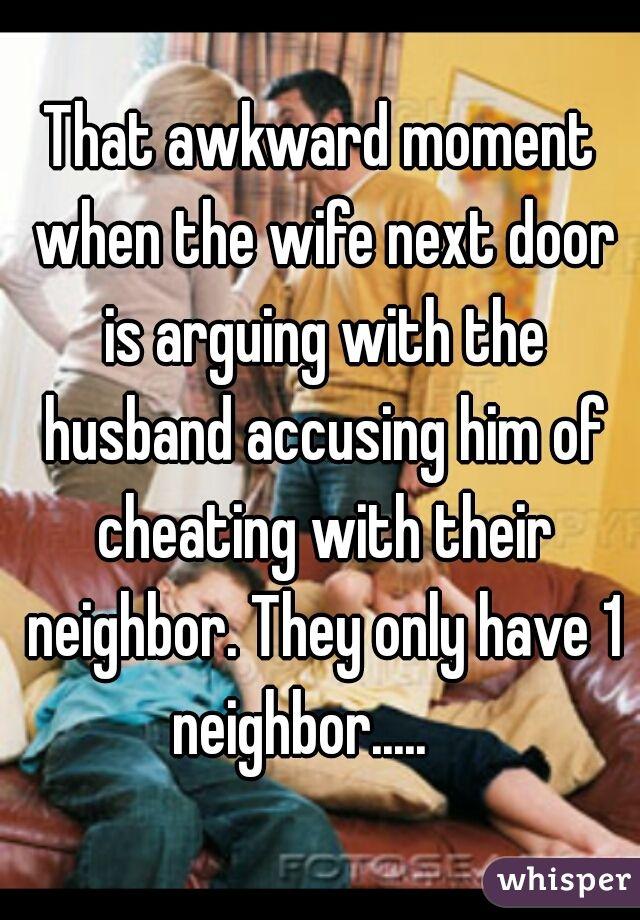 Cheating Wife Next Door