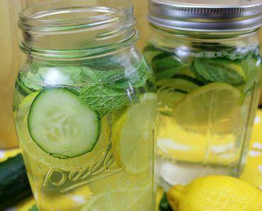 Agua Detox Para Emagrecer Poderosa Queima Gordura Vitaminas