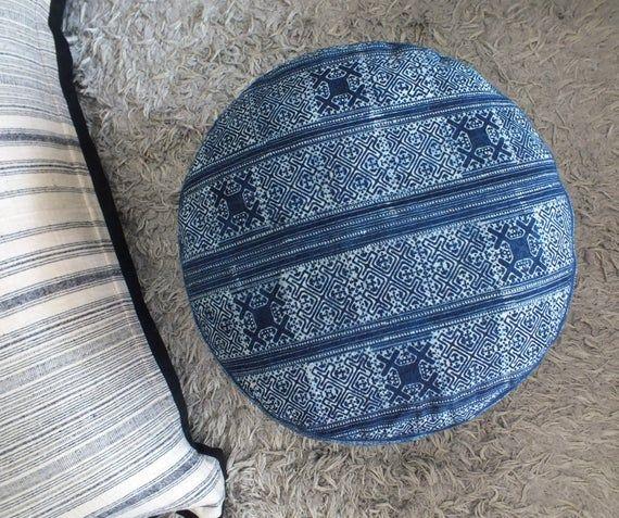 Bean bag Floor pillows stool puff Boho Hocker Cushion Cover Ottoman Round Pillow large beanbags adults Chair Playroom Baby changing cushions