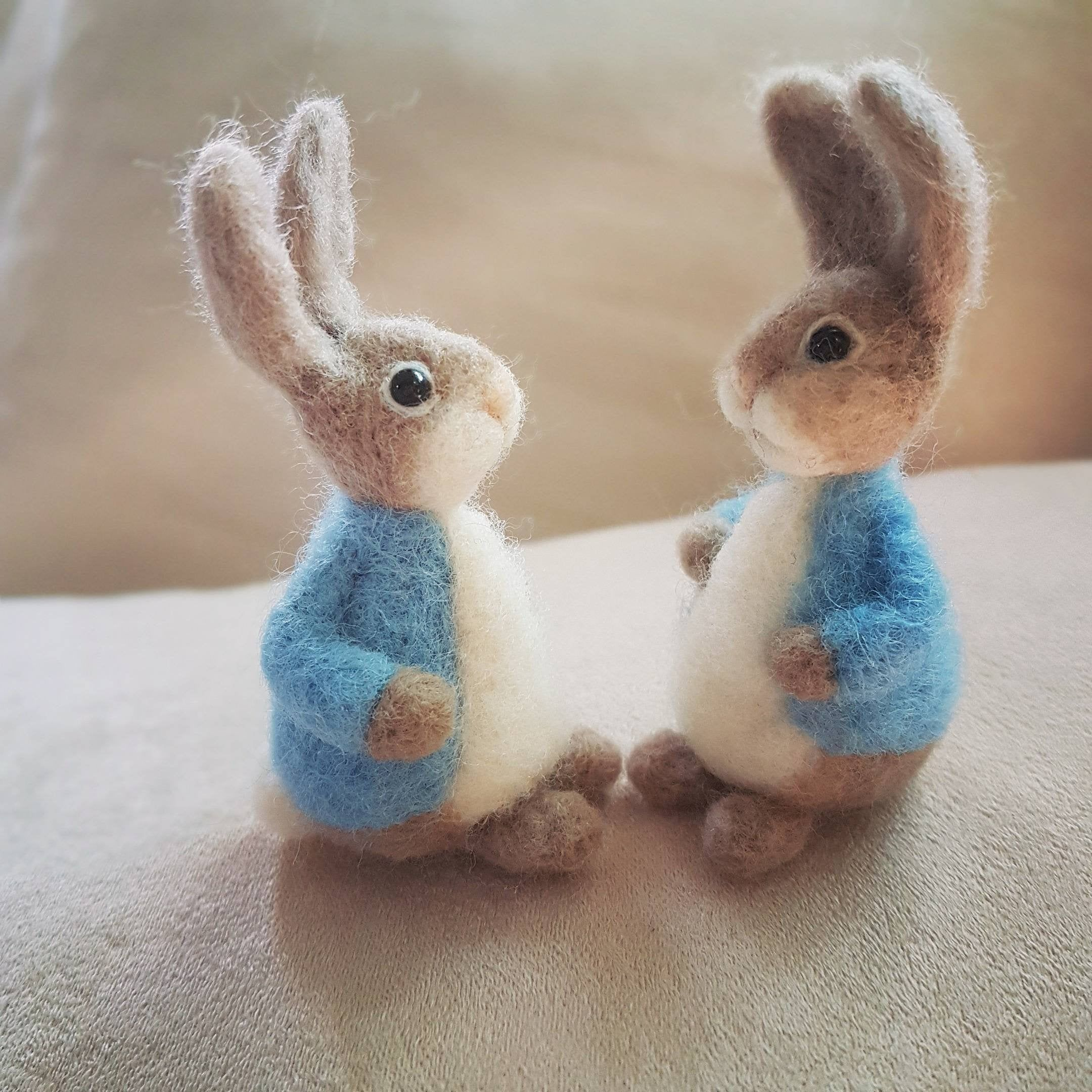 Felted bunny, Needle felted animal, Needle felted rabbit, Felted rabbit, Needle felted bunny, Rabbit toys, Rabbit doll, Rabbit lover gift