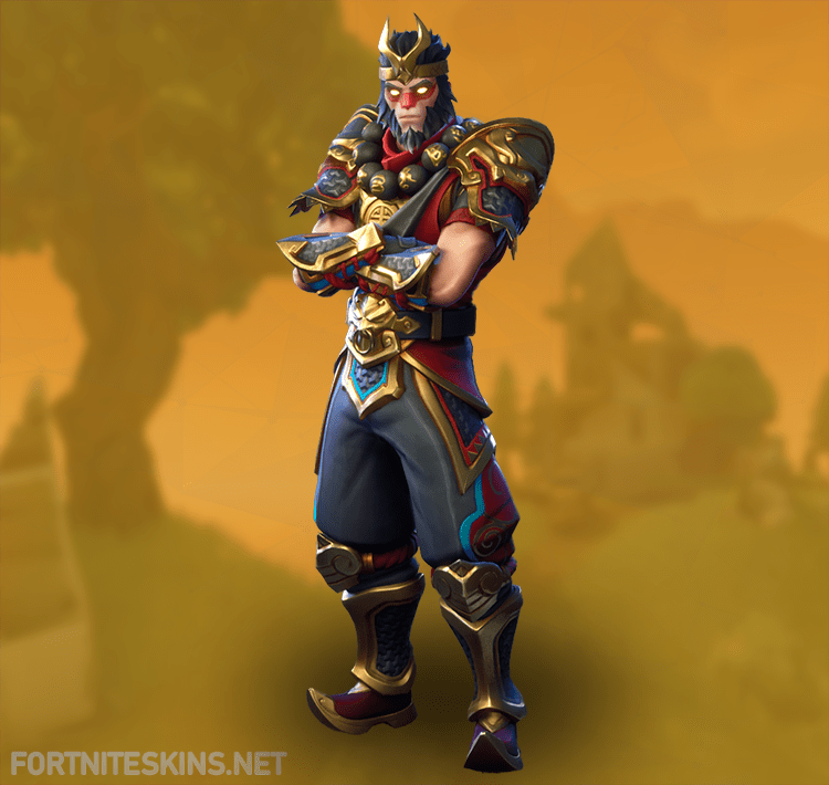 Wukong Outfit In Fortnite Battle Royale.