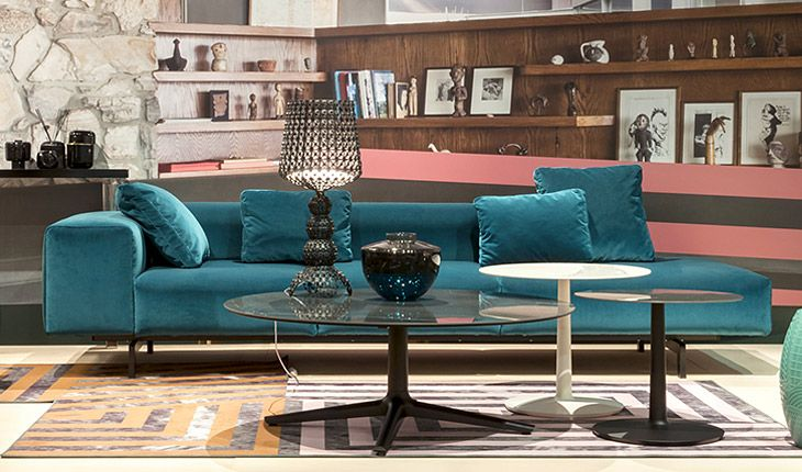 ... Coffee Tables In Round, Square Or Oval Lends A Sophisticated Look To  Your Entire Space. Pictured Here With The New KABUKI Table Lamp And The  LARGO Sofa ...