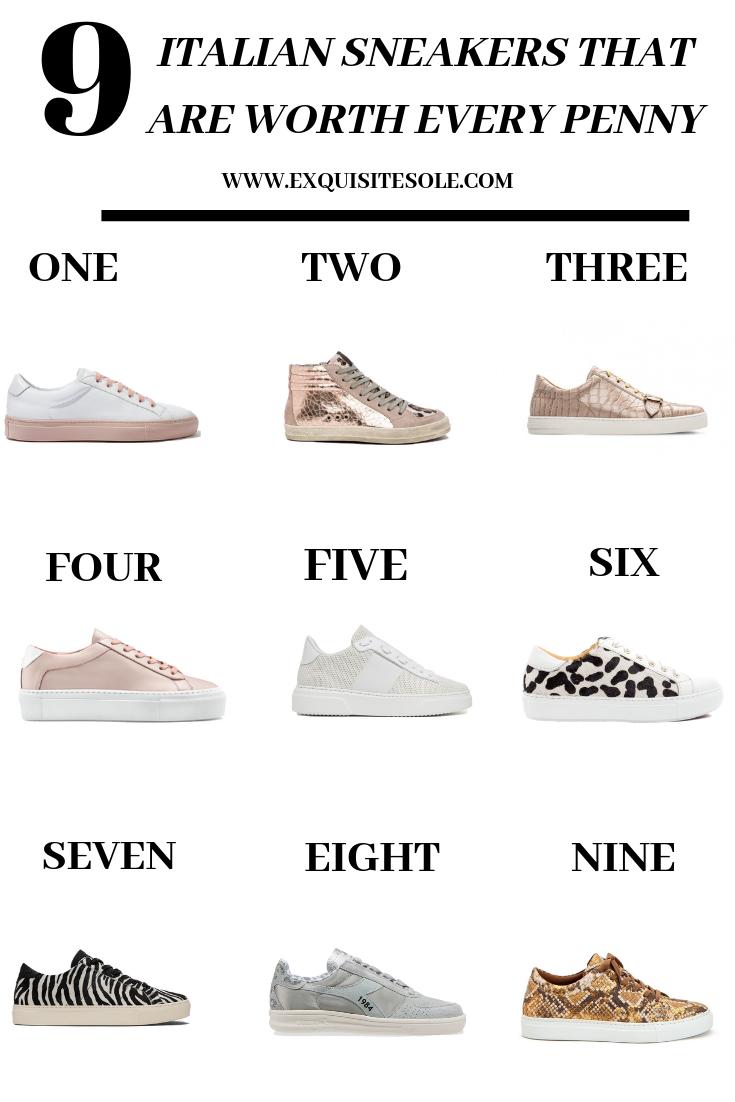 9 Italian Sneaker Brands   Italian