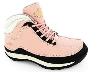 WOMENS-LADIES-STEEL-TOE-CAP-HIKING-SAFETY-WORK-PINK-TRAINERS-BOOTS-SIZE-3-8 99ee8769d0