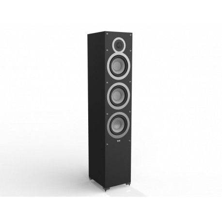 Elac Debut F6 - Altavoces de Suelo Precio de la pareja The Debut F6 loudspeaker combines the advanced drivers of the B6 bookshelf in a floorstanding 3-way, bass-reflex design that takes Debut performance to the limit. With sound that rivals speakers costing many times more, the F6 shows that quality components and superior engineering are a winning combination every time. #altavoces #altavocesessuelo