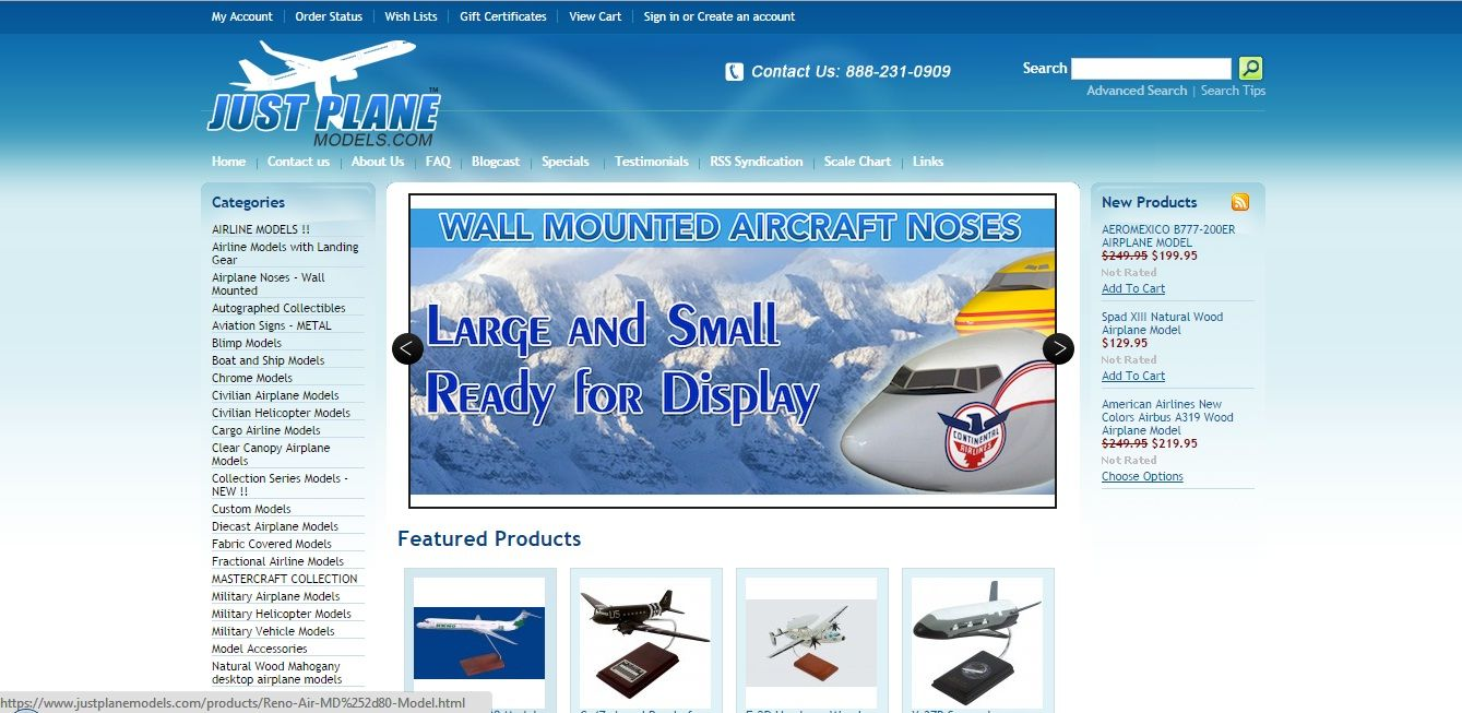 Find great deals on airplane models and aircraft models at Justplanmodels com Buy various models of planes Contact us now! https://www.justplanemodels.com/