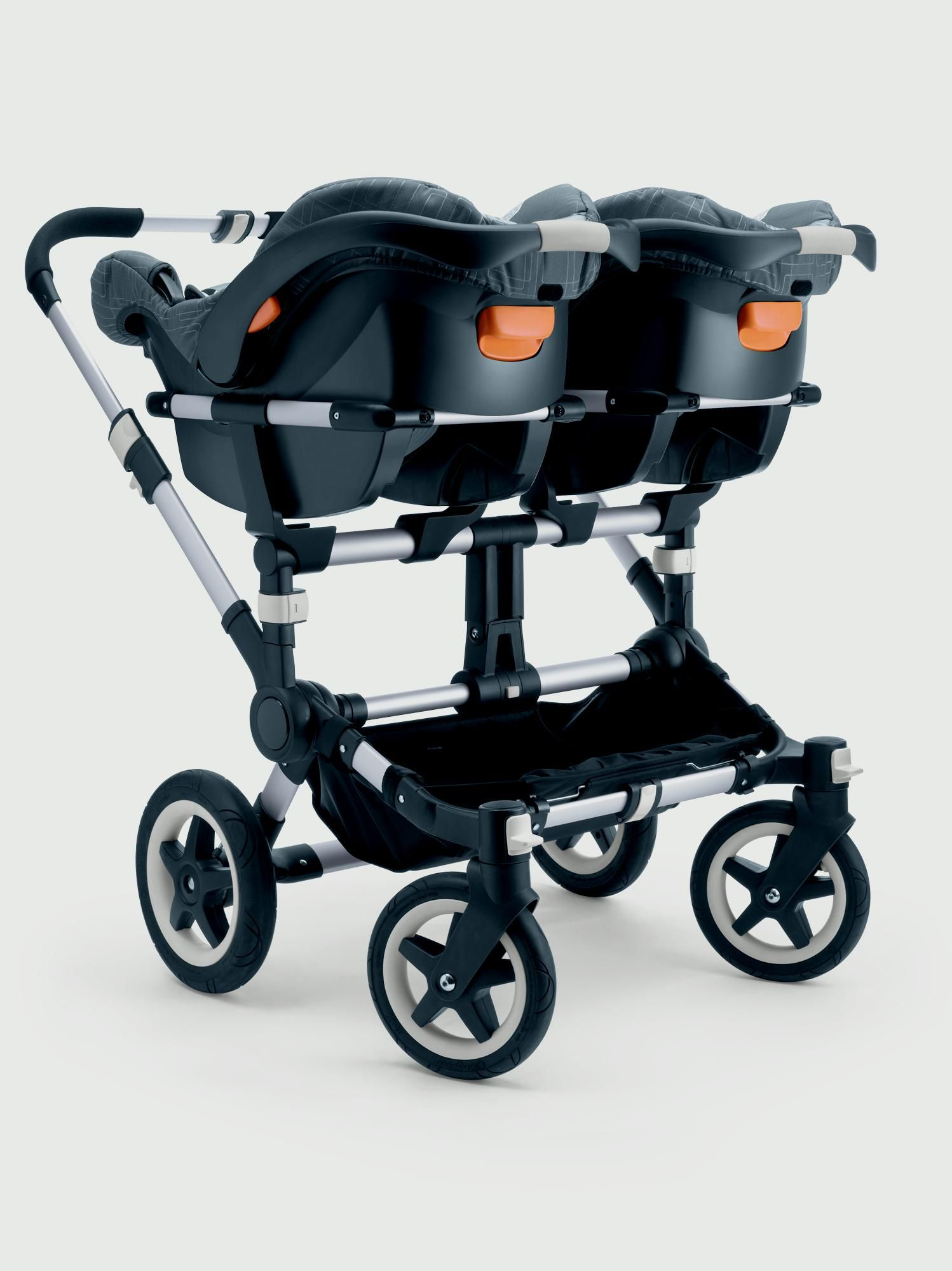 Bugaboo Donkey Twin adapter for Britax Romer
