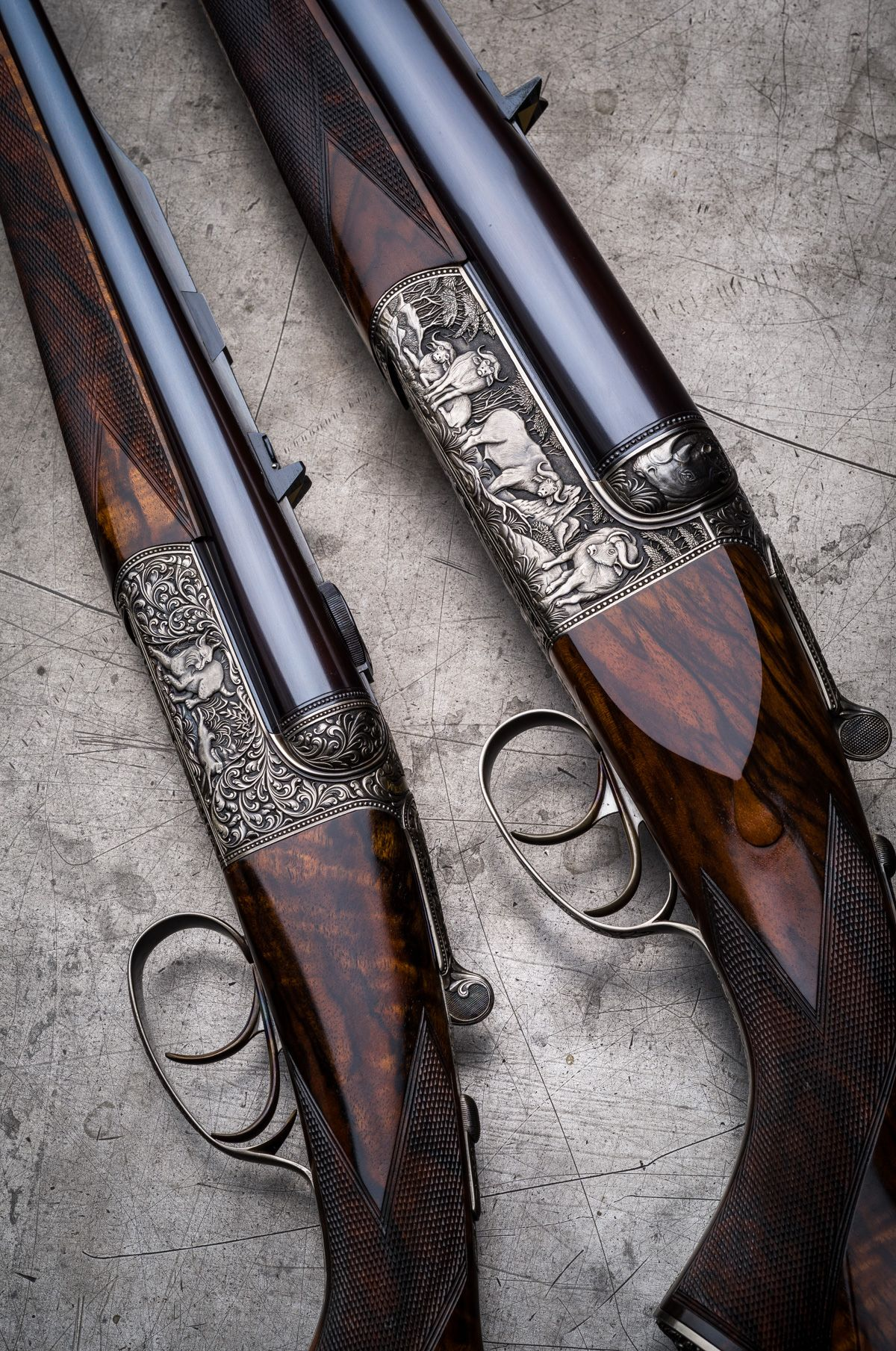Westley Richards Droplocks in .600 and .243. Save those thumbs & bucks w/ free shipping on this magloader I purchased mine http://www.amazon.com/shops/raeind   No more leaving the last round out because it is too hard to get in. And you will load them faster and easier, to maximize your shooting enjoyment.