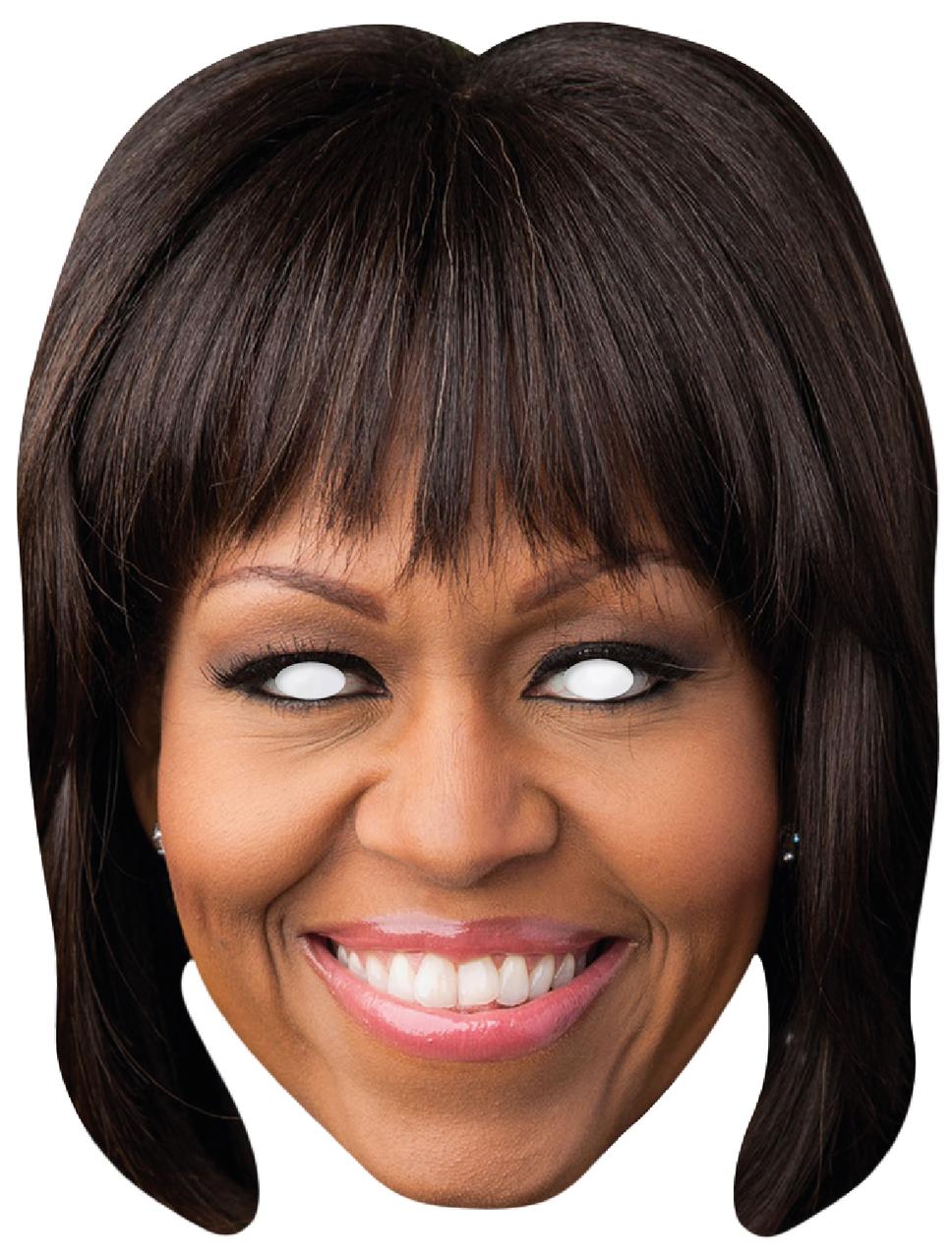 Michelle Obama Fancy Dress Mask Fancy Dress Masks Fancy Dress Michelle Obama