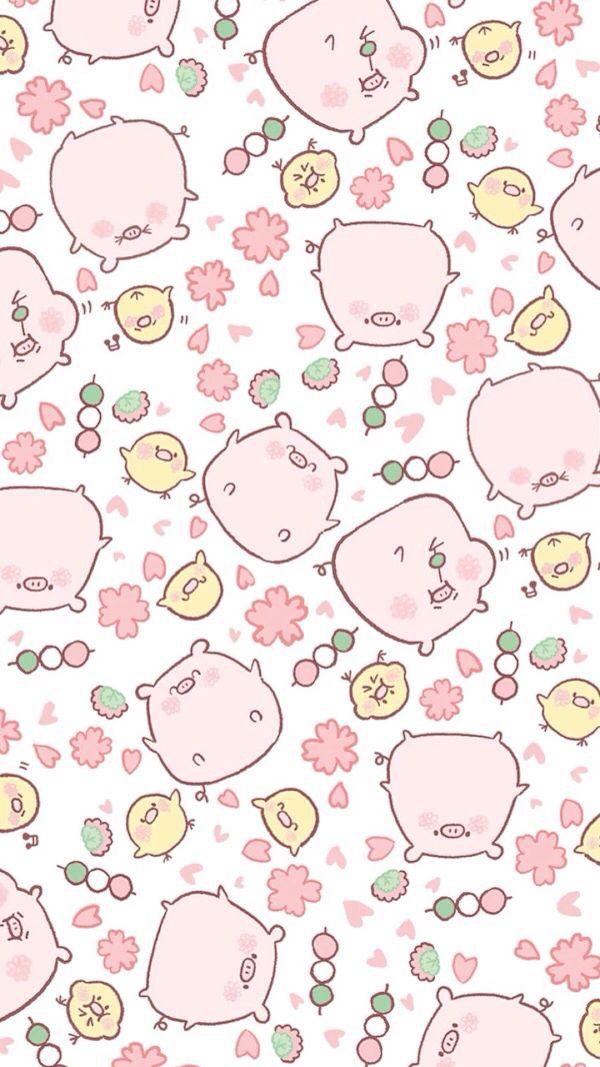 Pin By Lisa Markle On Cute Cartoon Pig Wallpaper Wallpaper Iphone Cute Cute Cartoon Wallpapers