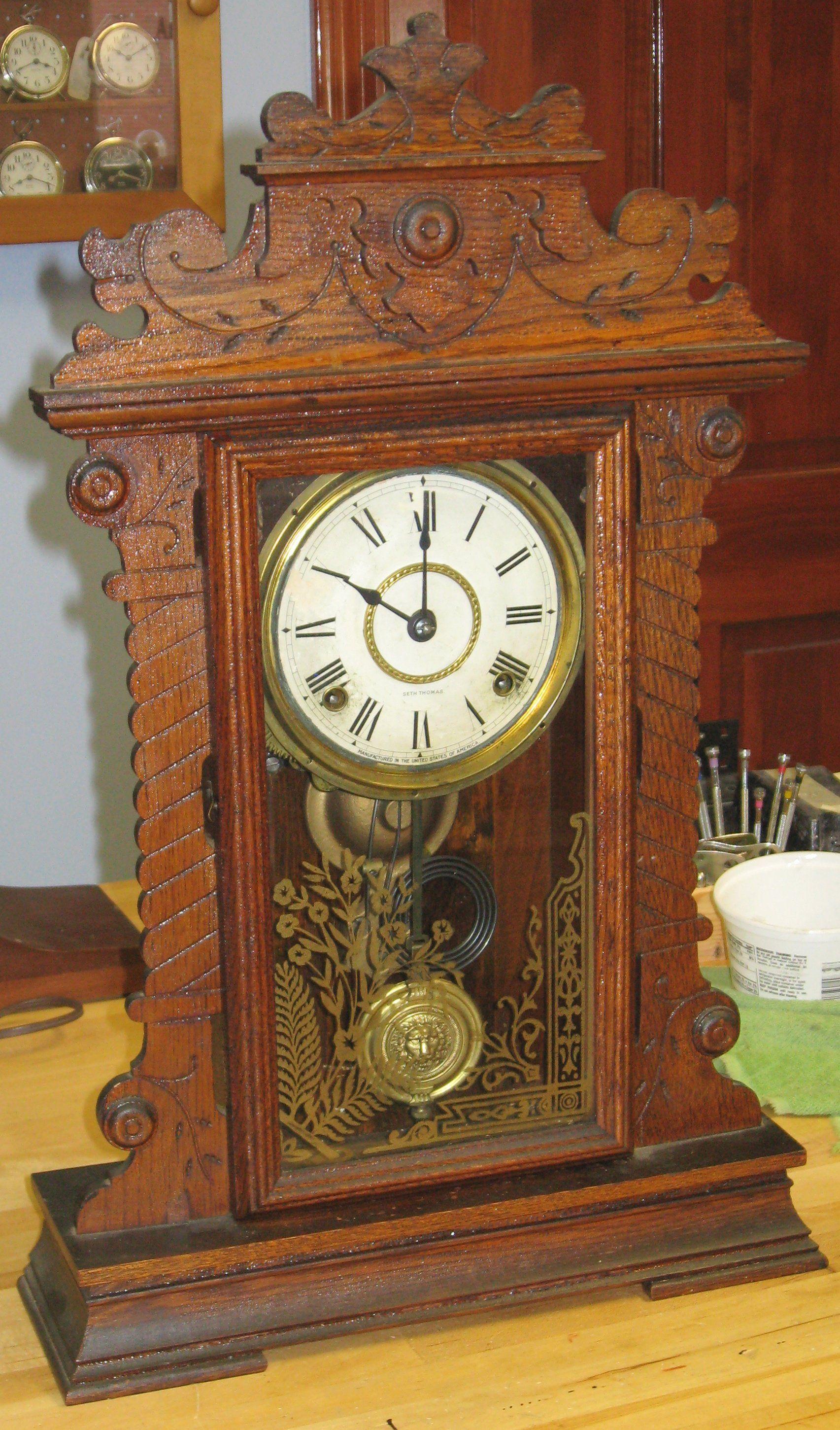 Dating Seth Thomas Clocks Antique Kitchen Clocks Vintage Clock