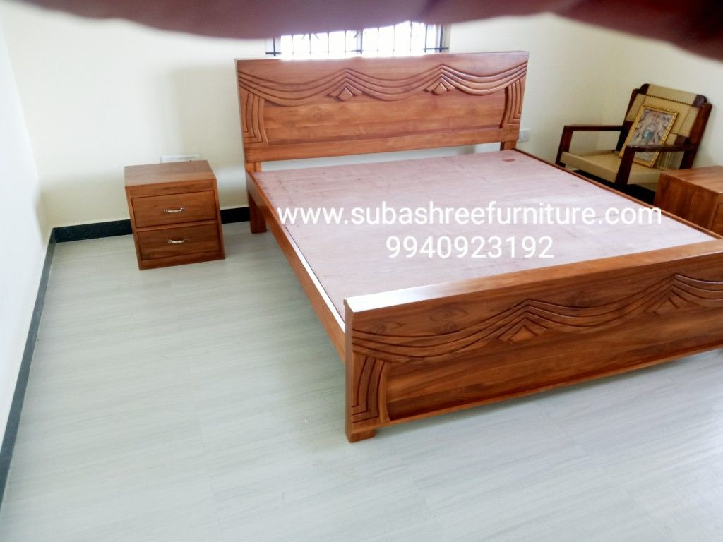 Teakwood King Size Cot Brand New From Subashree Furniture In 2020 Furniture Teak Wood Furniture Furniture Manufacturers