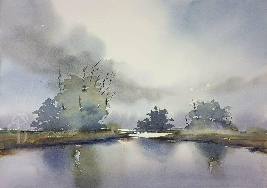 Nature Is Beautiful Watercolor Watercolour Watercolor Demo