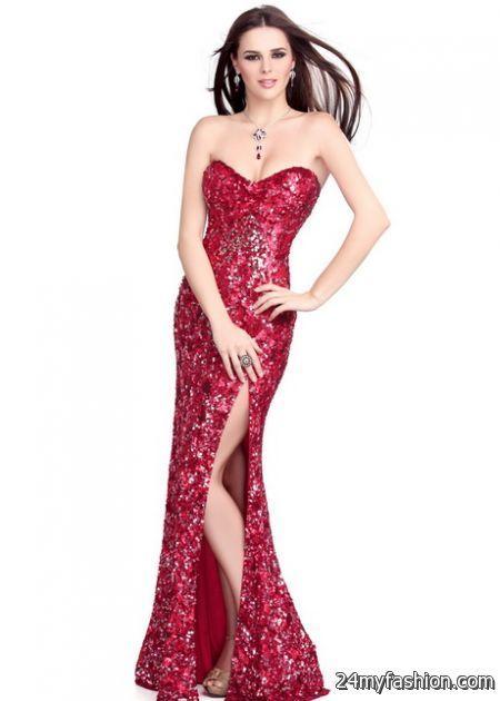Red glitter dress 2017-2018 » B2B Fashion   Fashion Ideas ...