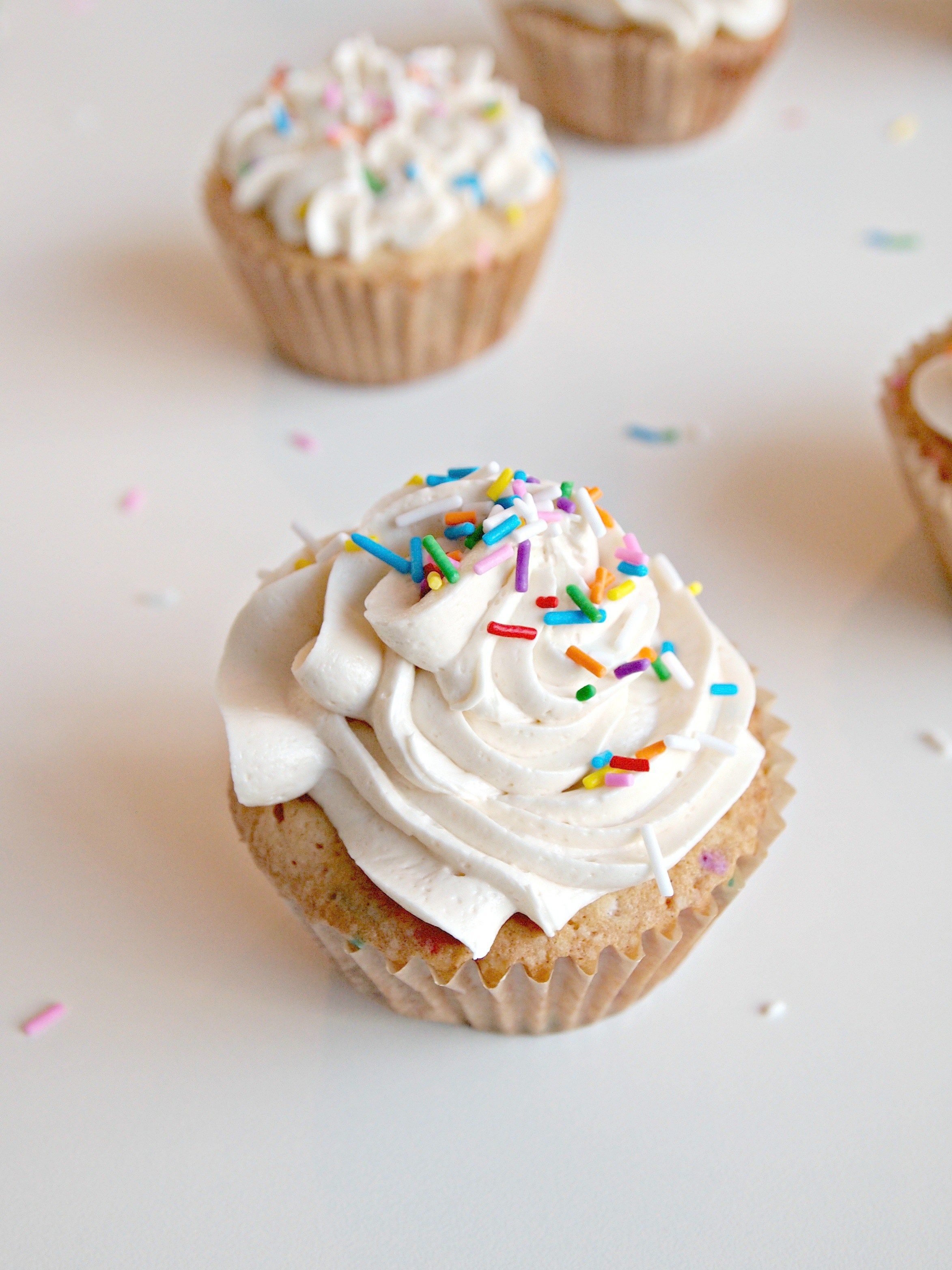 Momofukus Milk Bar Birthday Cupcakes