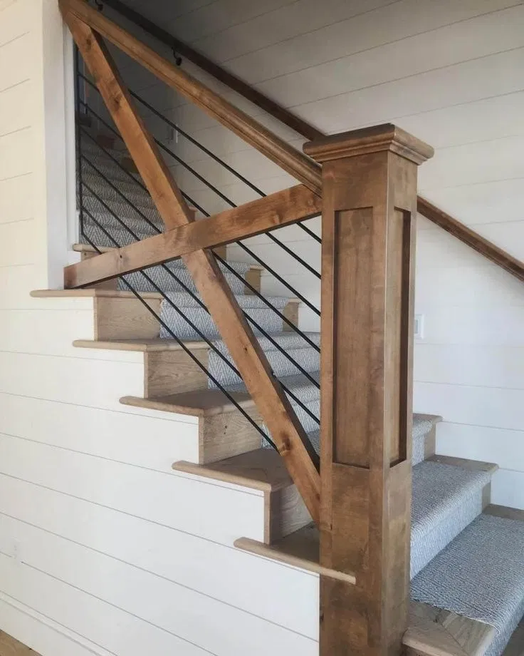 Most Popular Creative Stair Railing Ideas To Develop A