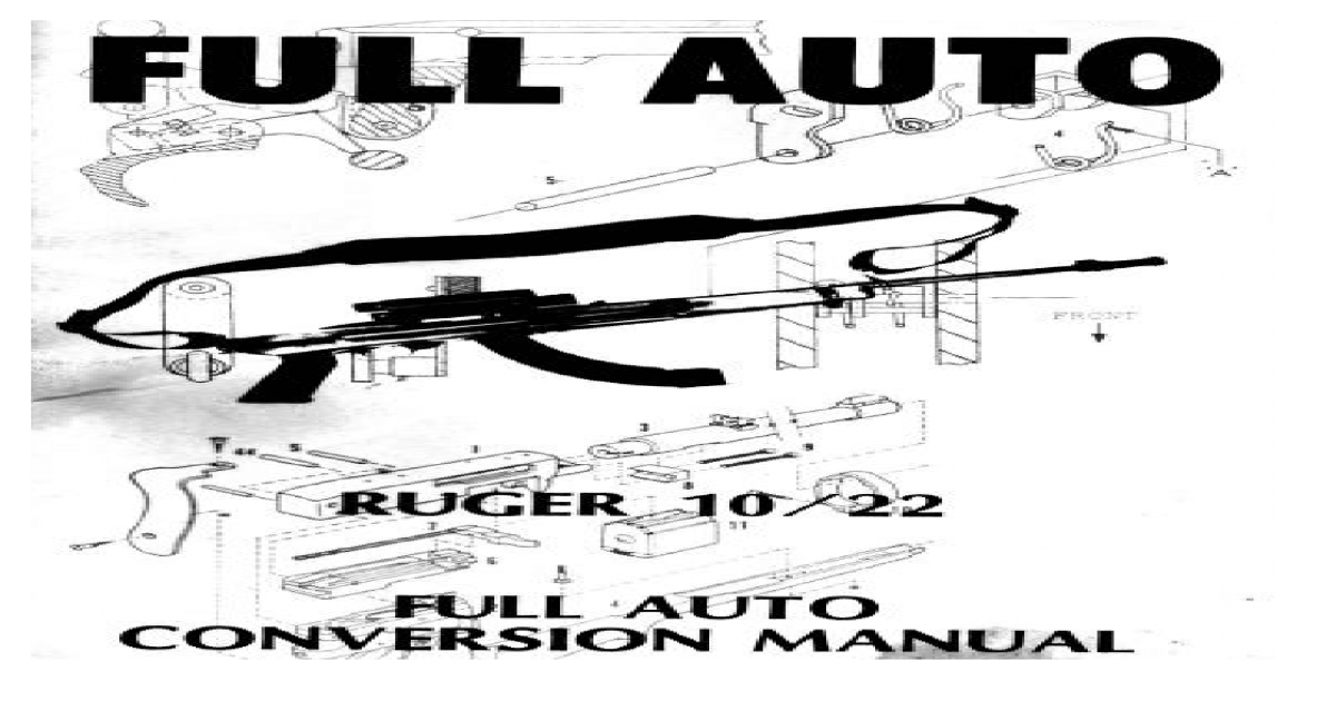 Ruger 10-22 Full-Auto Conversion (Version 2) | 22 conversion