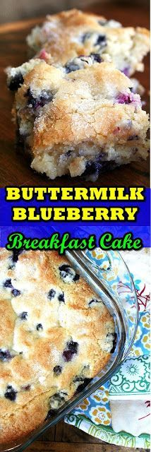 Buttermilk Blueberry Breakfast Cake I swear buttermilk is magic. It appears to turn everything into gold: super-moist super-delicious gold.  This morning I woke up wanting a simple summery cake-like-but-not-dessert-like breakfast treat. One of Bens pals had crashed correct the following final night and I concept it merely suitable to deal with him to a actual breakfast. In different words I was yearning sugar and carbs. The reality is Ive been yearning sugar and carbs and a cake like this for mo #buttermilkblueberrybreakfastcake