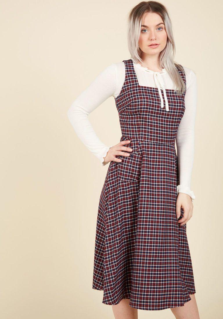ed2b24c9b1c8 Collectif Raring to Reminisce Midi Dress