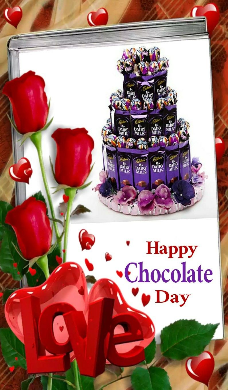Pin By Sri Lakshmi On Good Morning Happy Chocolate Day Chocolate Day Chocolate Milk Happy chocolate day images 2021 dairy