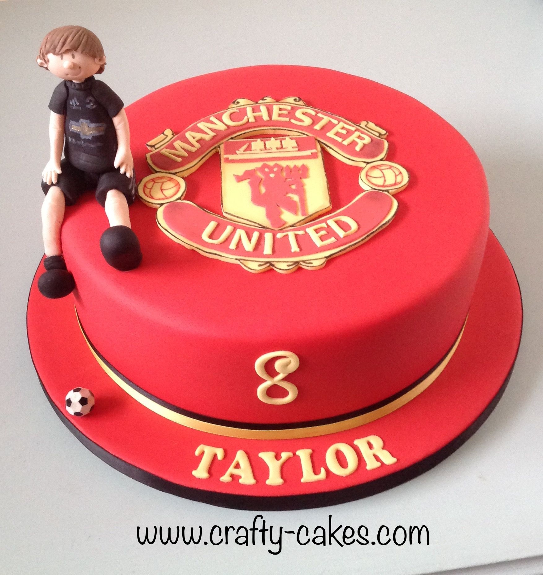 Manchester United Edible Birthday Cake Topper Or Cupcake Topper Decor Manchester United Birthday Cake Edible Cake Toppers Birthday Cake Toppers