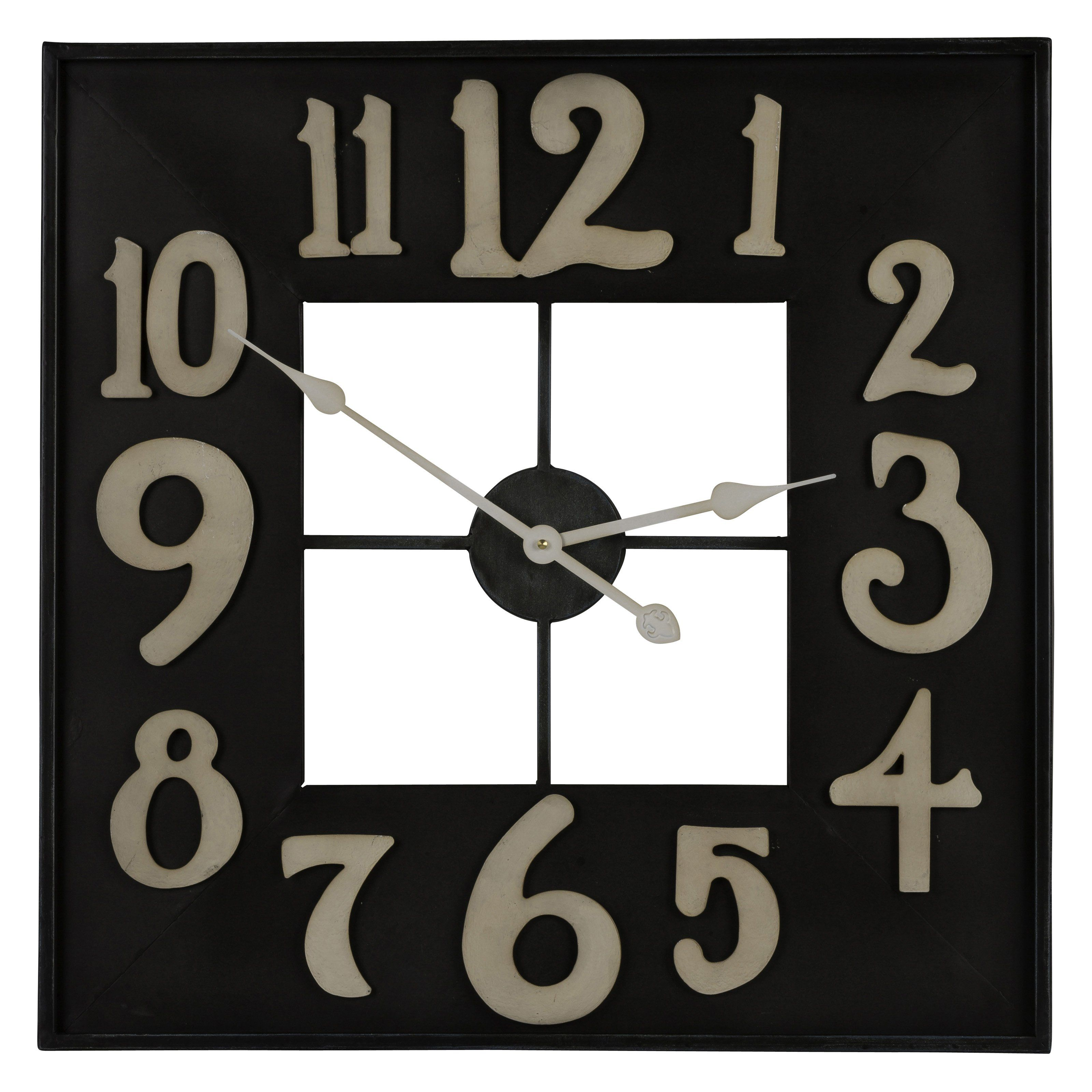 Cooper Classics Brazos Wall Clock 24 In Wide From Hayneedle Com Oversized Large