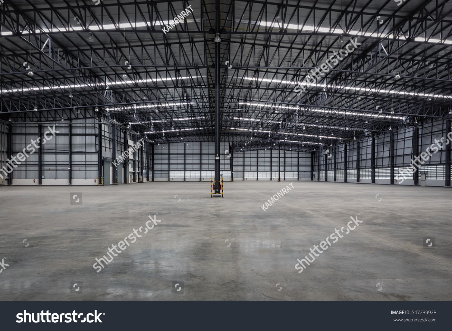 Empty warehouse typical storage for distribution good,Warehouses are