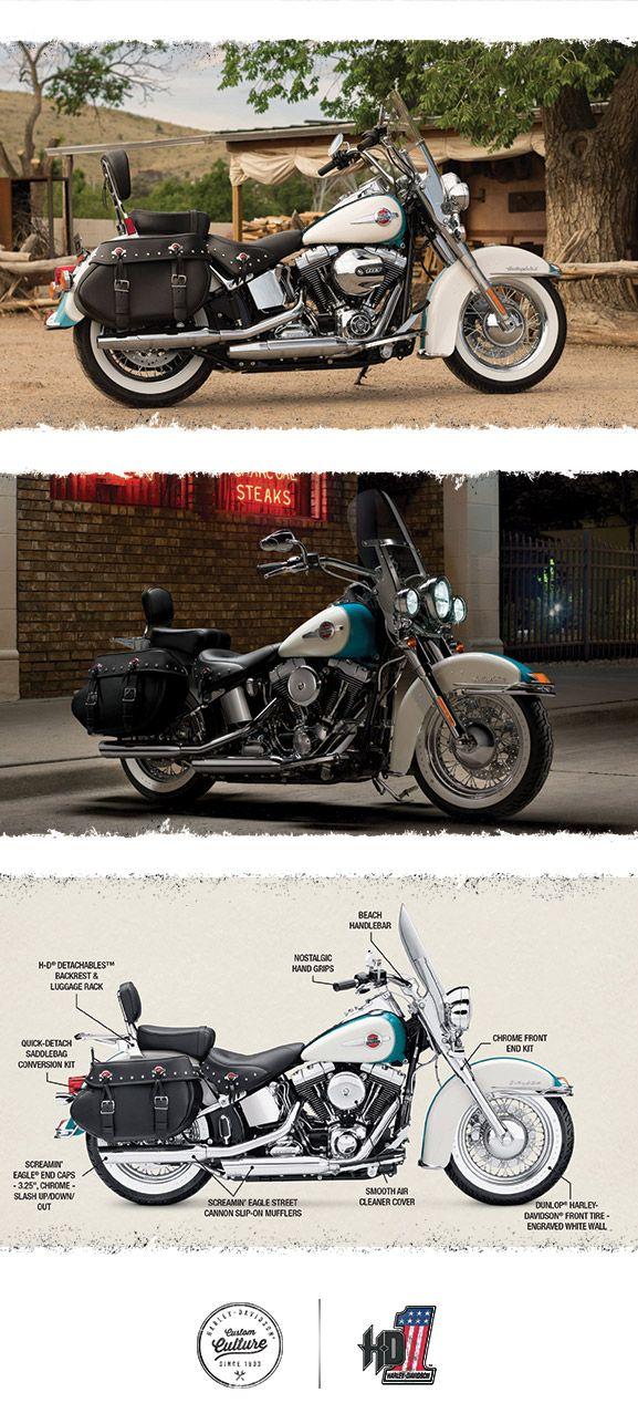 Defy The Wind 2016 Harley Davidson Heritage Softail Classic Harley Softail Harley Bikes Softail