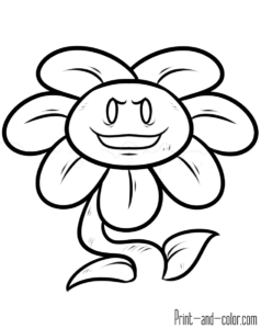 Undertale Coloring Pages Undertale Color