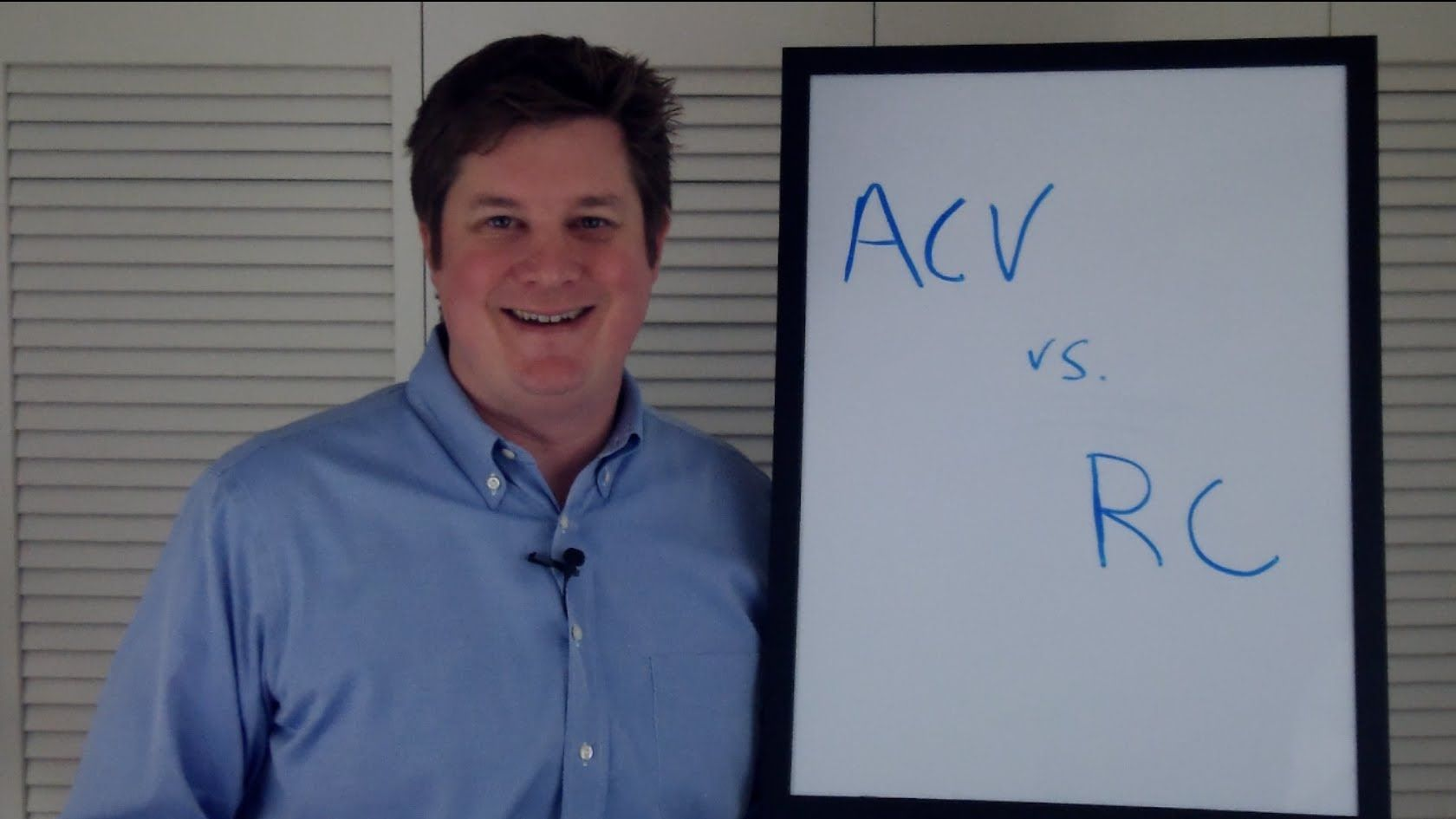 Actual Cash Value Vs Replacement Cost Homeowner S Insurance Basics Homeowners Insurance Homeowner Basic