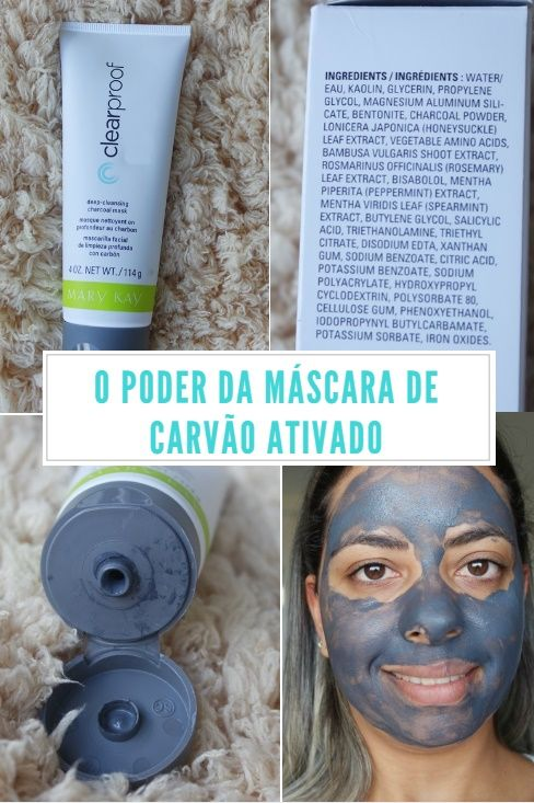 Mascara Detox De Carvao Ativado Da Mary Kay Imagens De Promocao