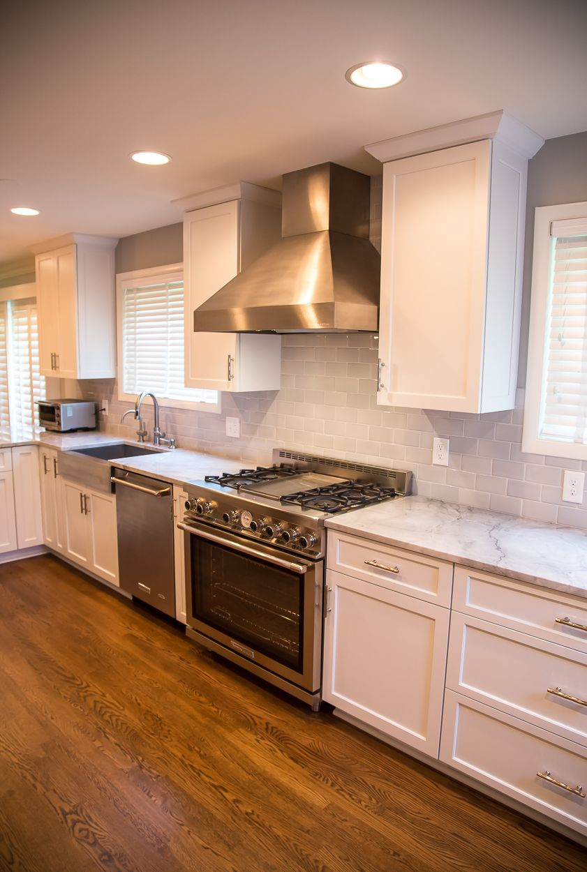This Kitchen Had A Big Transition Walls Soffits Countertops And