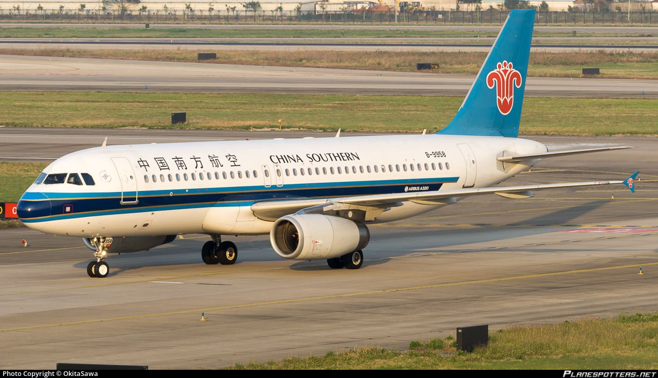 Airline China Southern Airlines Registration B 9958 Aircraft