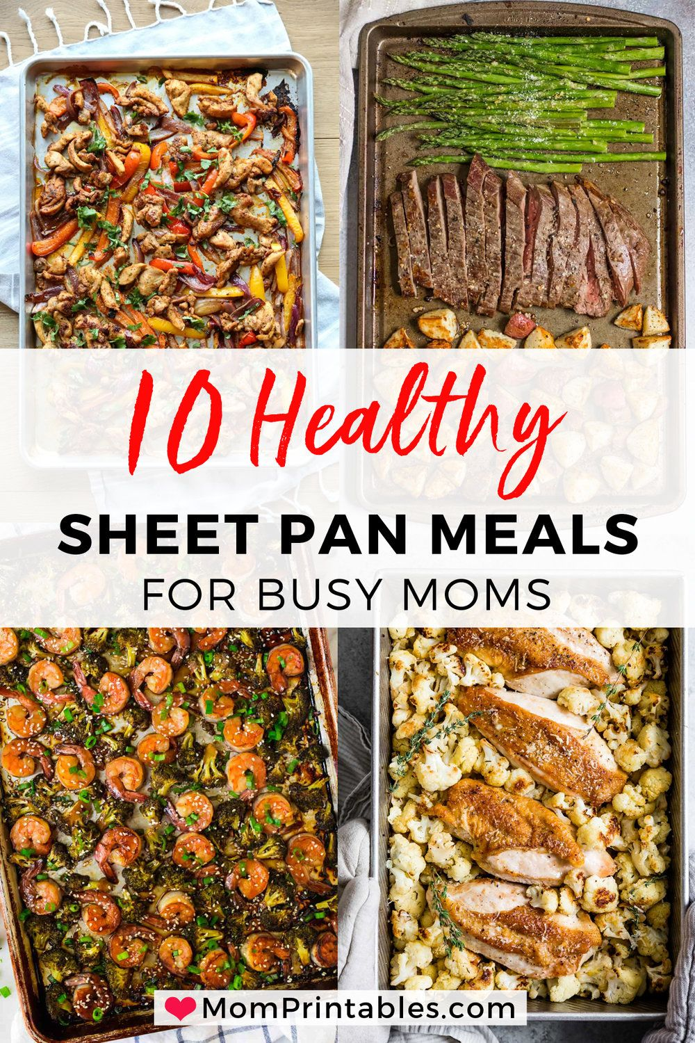 11 Healthy Sheet Pan Dinners To Try — Mom Printables - Simplifying Motherhood and Family Recipes
