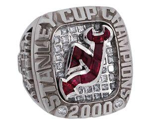 2000 NJ Devils Stanley Cup ring  91b5042d4