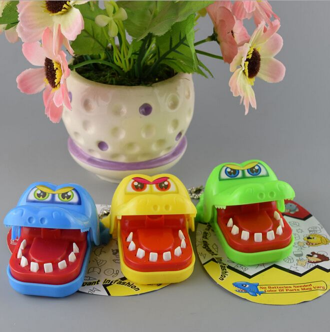 Funny Gags Toy Creative Chidlren Kid Crocodile Mouth Dentist Bite Finger Game