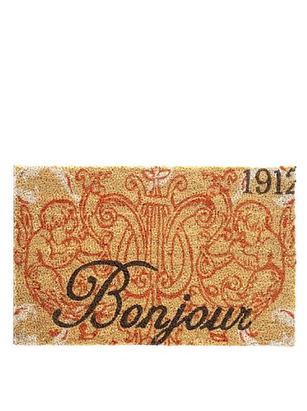 Bonjour Door Mat $19 sale [$35 regular]