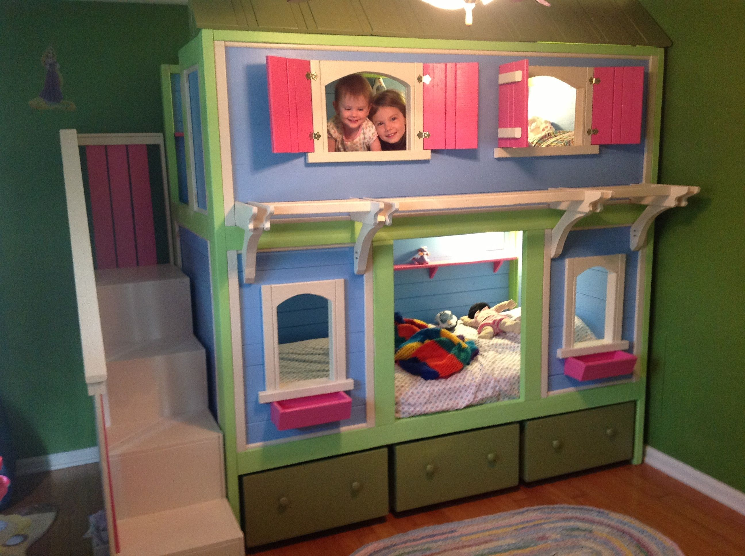 Top 35+ Free & Simple 2x4 Bunk Bed Plans with dimensions