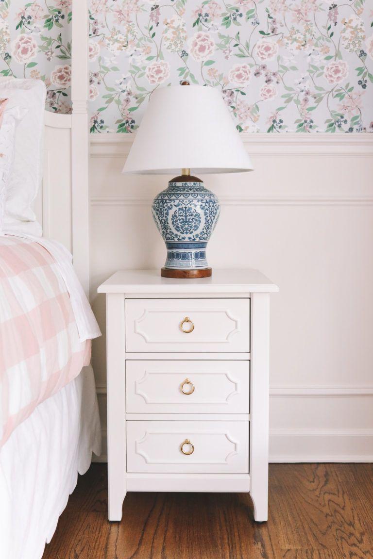 Emma's Room Gets Wallpapered | Kids room wallpaper, Girl ...