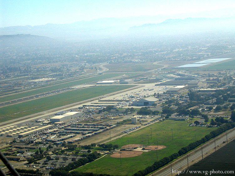 Camarillo Airport. Originally Oxnard Air Force Base