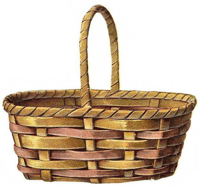Victorian Scrap ~ Basket