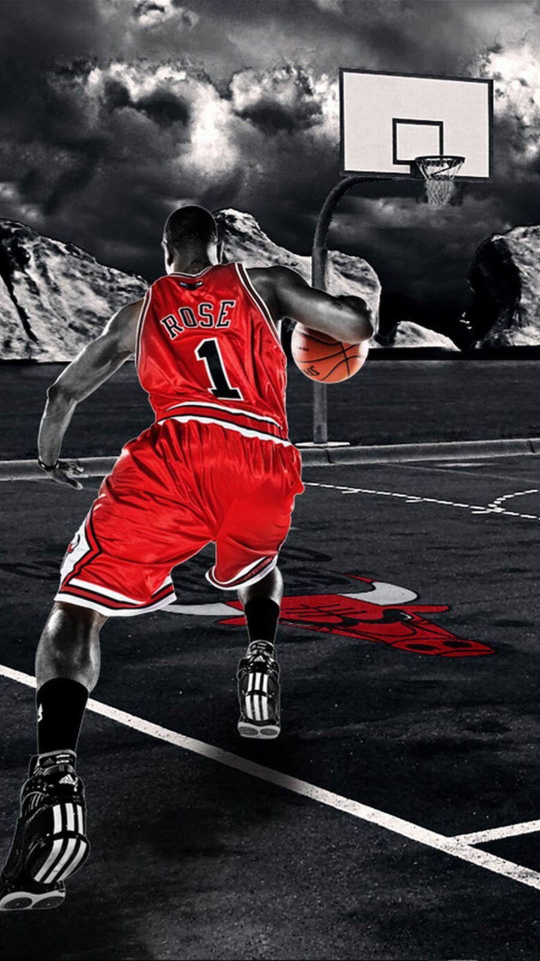 Download Free Basketball Iphone Wallpaper Basketball Iphone Wallpaper Basketball Background Derrick Rose Wallpapers